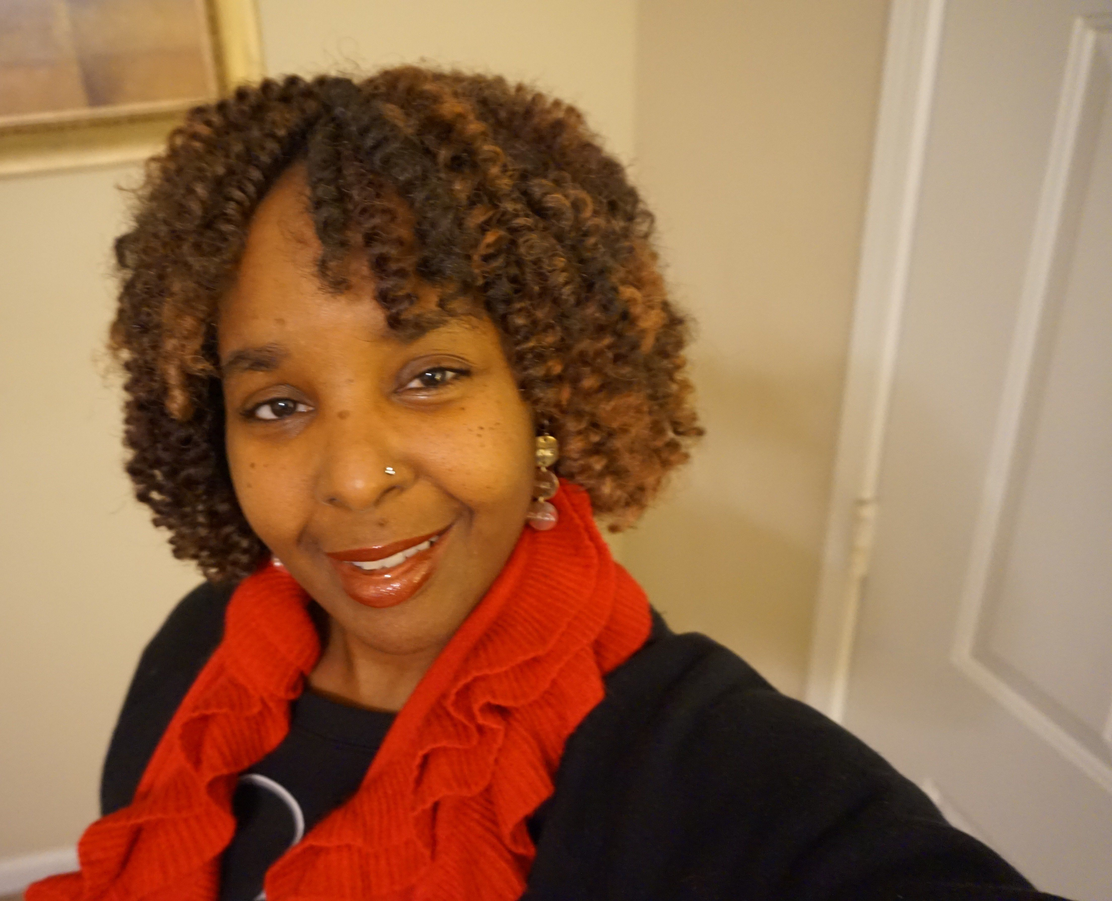 My Crochet Wig Is Done I Used Femi Marley Hair Color I Used
