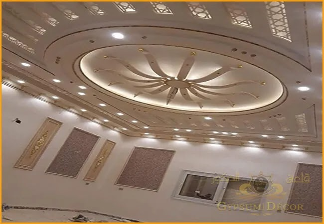 جبس غرف نوم ديكورات اسقف جبس بسيطة 2021