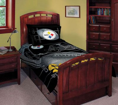 Pittsburgh Steelers Bedding Comforter Set Twin Bed