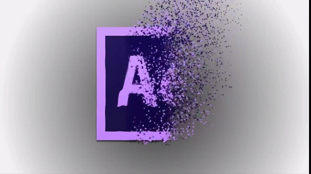 Wave Logo Particles Animation Effect Tutorial Adobe After Effects