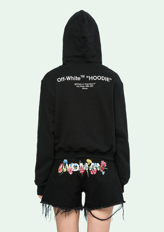 9206c953aef OFF WHITE - Hooded Sweatshirt - OffWhite