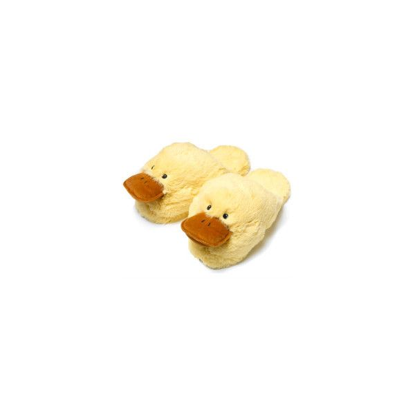 Pillowhead Slippers Duck 79 NOK Liked On Polyvore Featuring