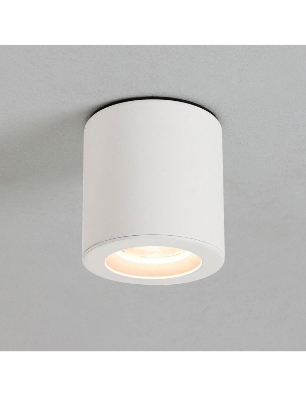 434212 badkamer lampen design led kitchen ceiling - Kos Round Opbouwspot Wit Opbouwspot Spot Badkamer
