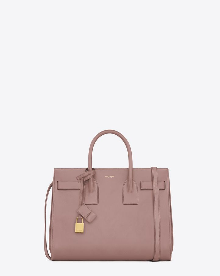 Saint Laurent Classic Small Sac De Jour In Old Rose Leather   ysl ... 5782b591cd