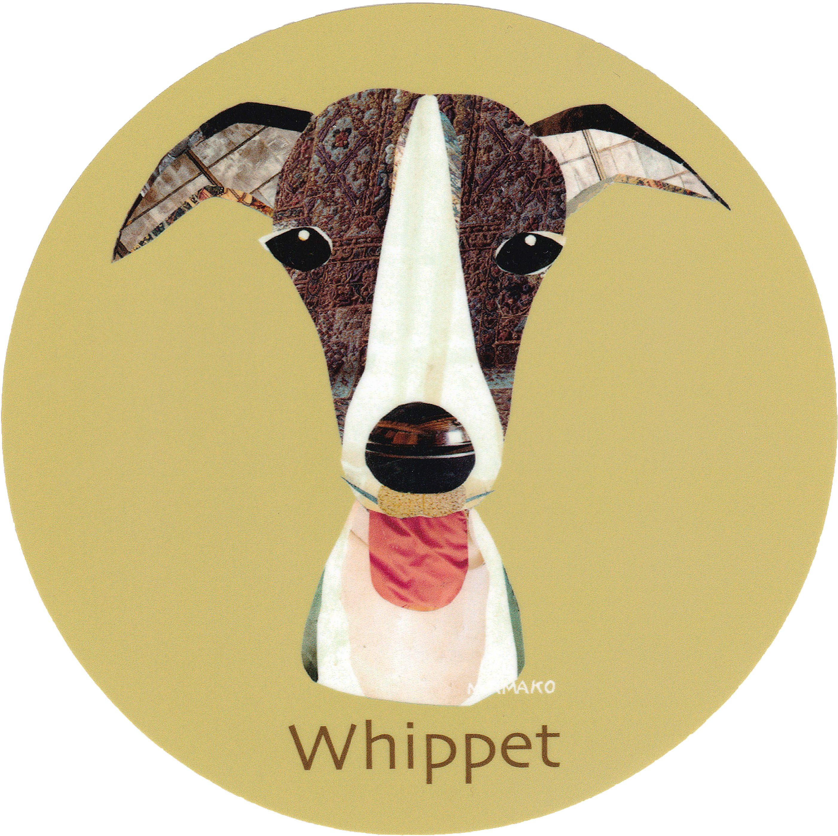 マイ @Behance プロジェクトを見る : 「011 | Whippet」 https://www.behance.net/gallery/42194863/011-Whippet