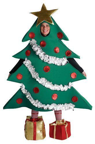 Christmas Tree Costume Adult