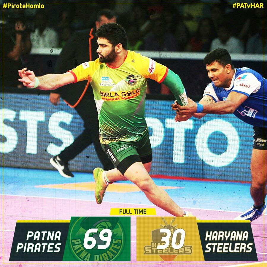 Pardeep Narwal Kabaddi Patna Pirates Pro Kabaddi League Patna Pirates