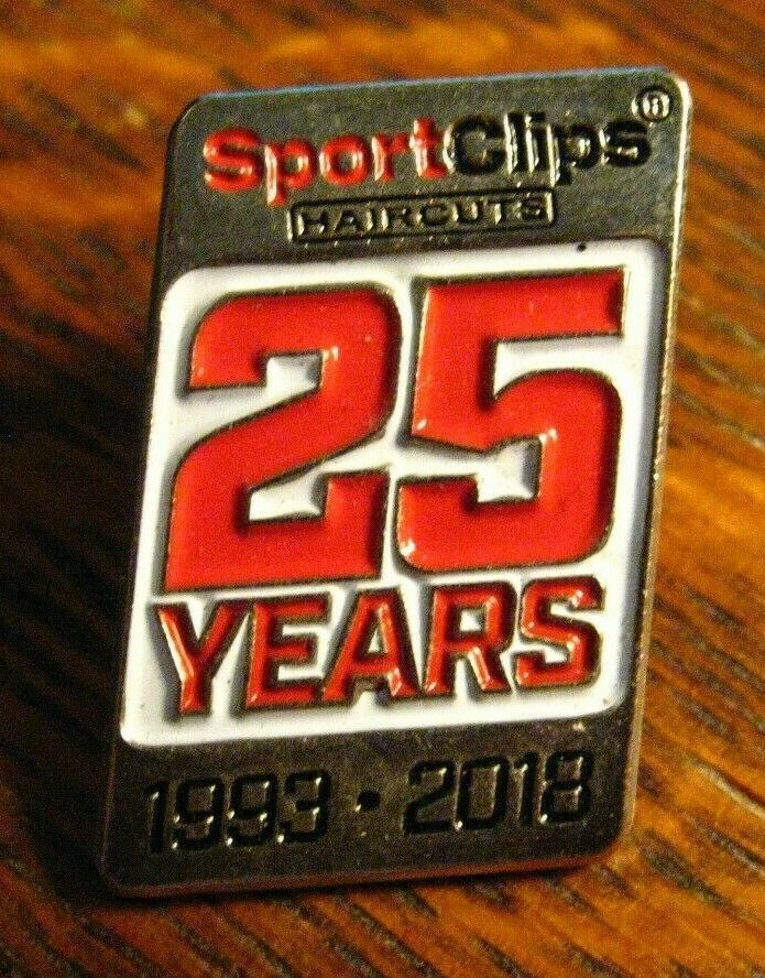 SportClips Lapel Pin 2018 Sport Clips Haircuts Barber