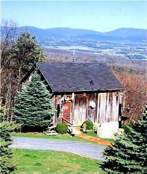The Barn At Elbow Landing Cabin Rental   Luray, Virginia Cabin Rental From  MountainLodging