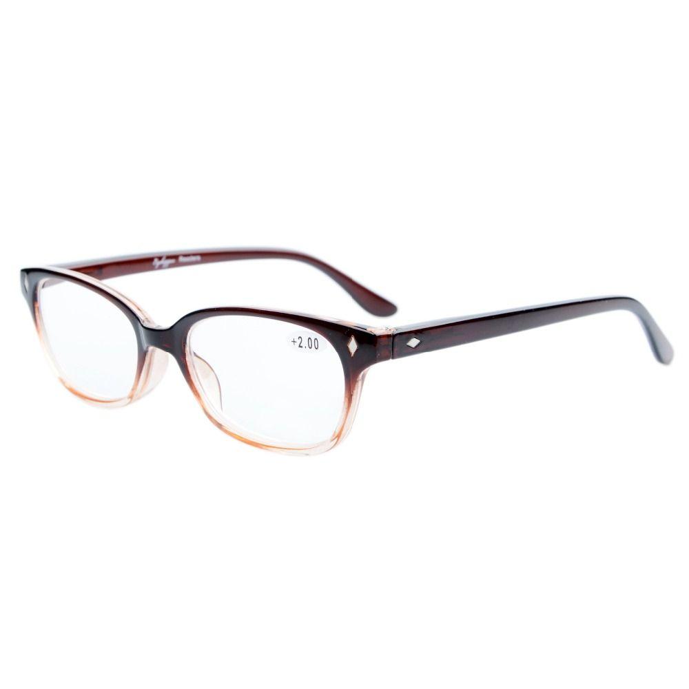 e1e10871575a Click to Buy << R068 Eyekepper Vintage Plastic Frame Spring Hinges Reading  Glasses