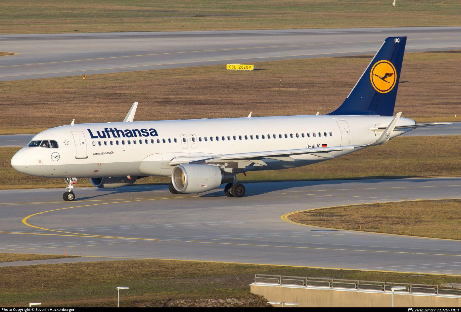 Airline Lufthansa Registration DAIUQ Aircraft Variant