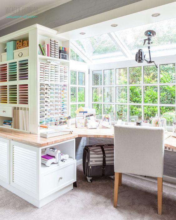 Home Design Virtual Tour: Craft Room Tour Virtual Y Sorteo De Una Big Shot