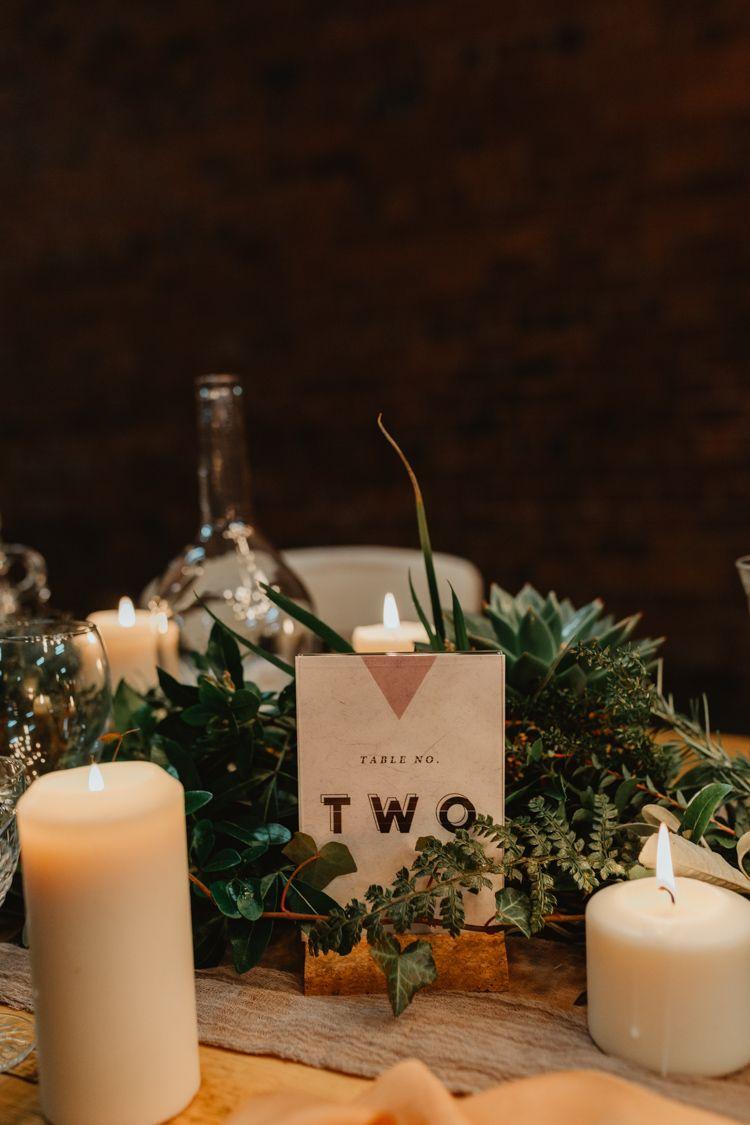Wedding decorations 2019  Industrial Violet u Greenery Succulents u Edison Lighting Wedding