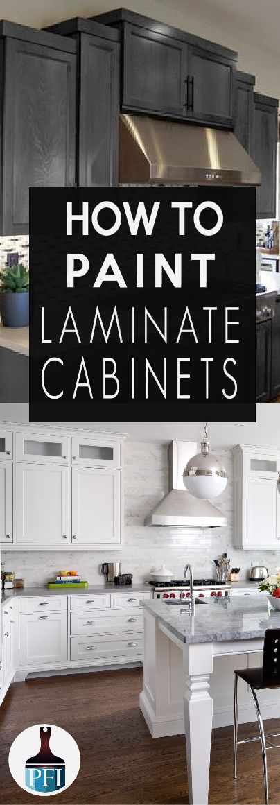 How To Paint Laminate Cabinets Painted Furniture Diy