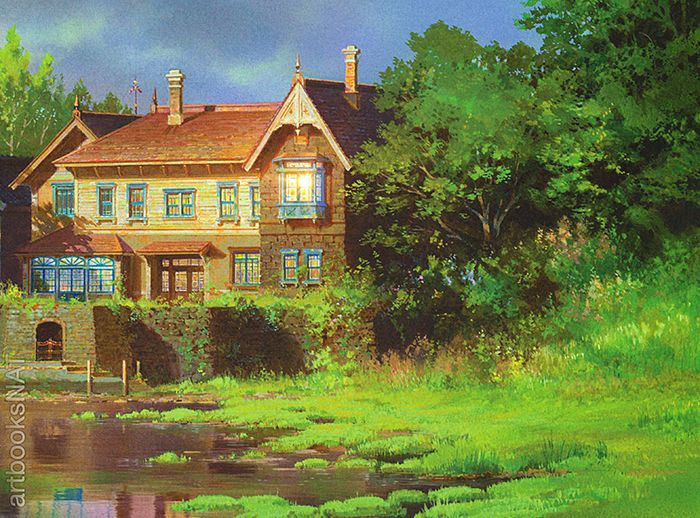 Artbooksnat Background Art From The Studio Ghibli Film When Marnie Was There 思い出のマーニー Yohei Taneda 種田陽平 Is The Art Director For This Sum マーニー スタジオジブリ アニメの風景