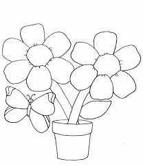 Easy Coloring Pages About Nature