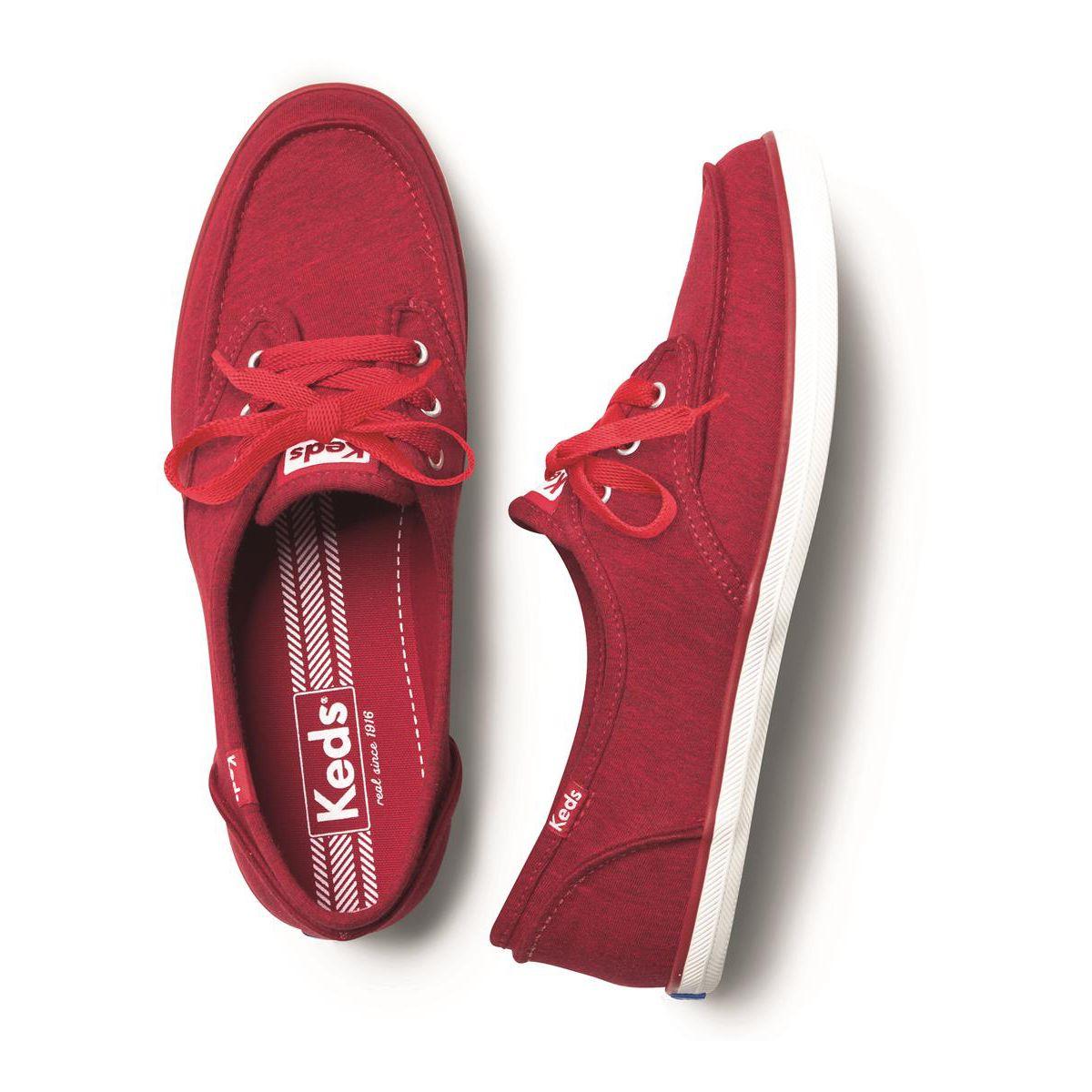 zapatos marca keds vermelho