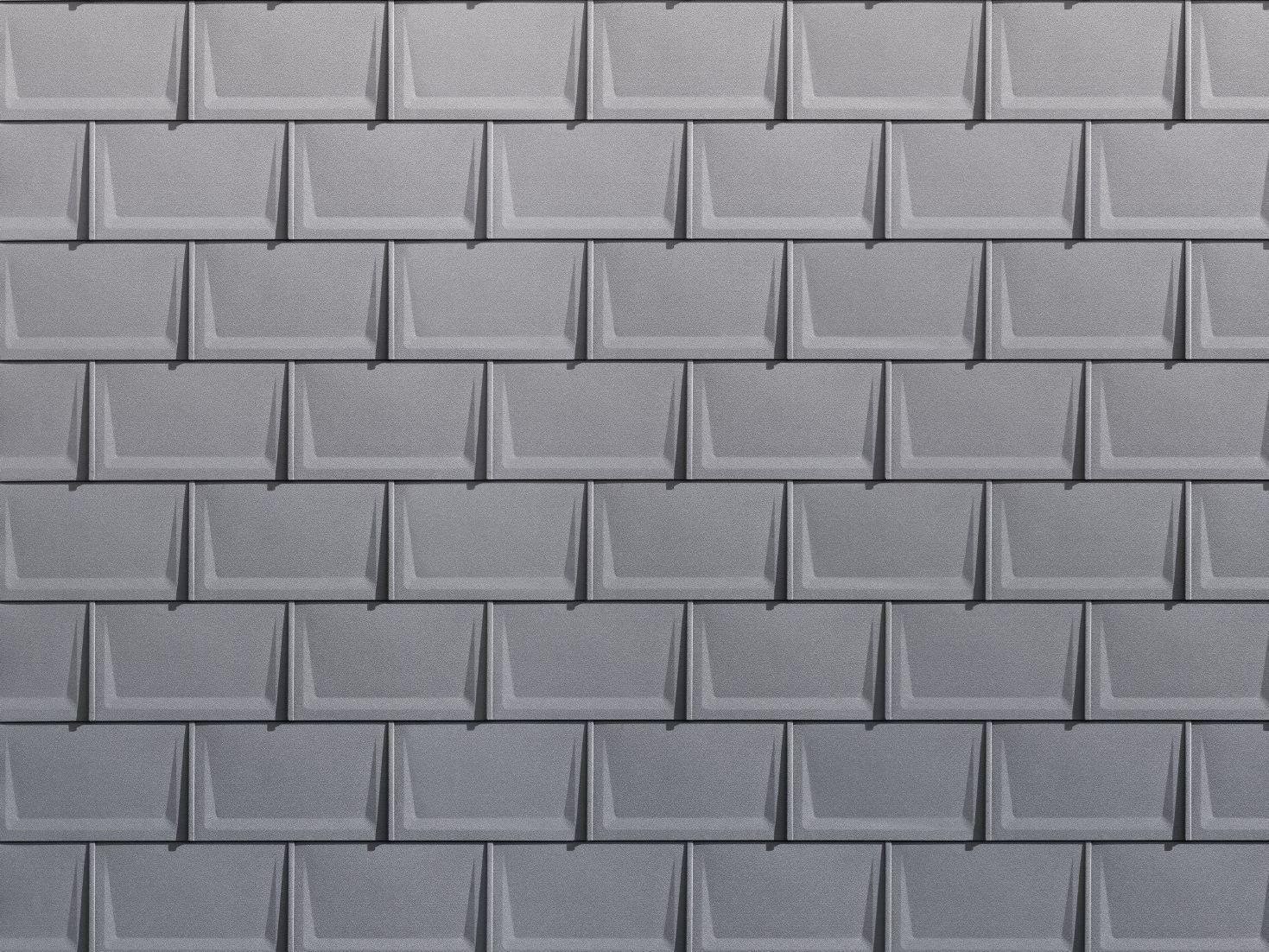 Aluminium Pantile R 16 By Prefa Italia Aluminium Cladding Materials Italia