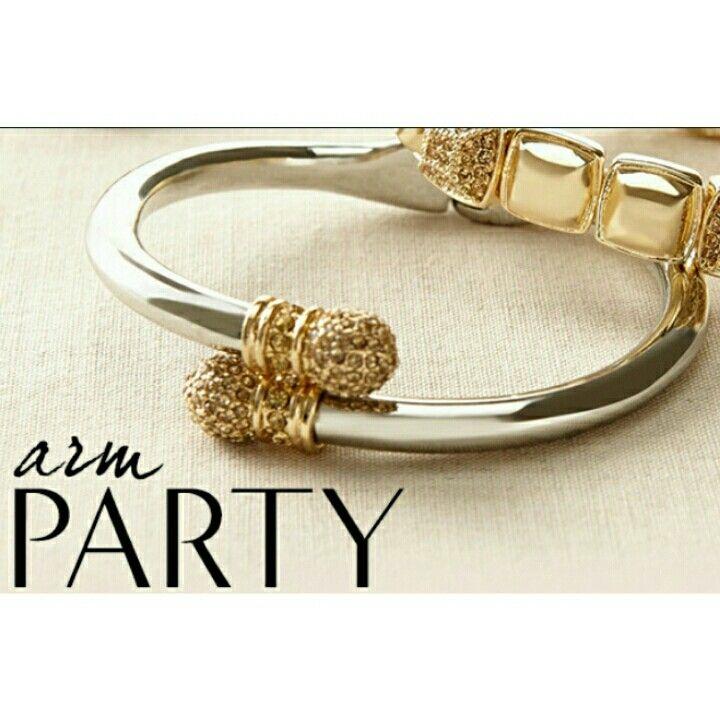 I love silver bracelets!