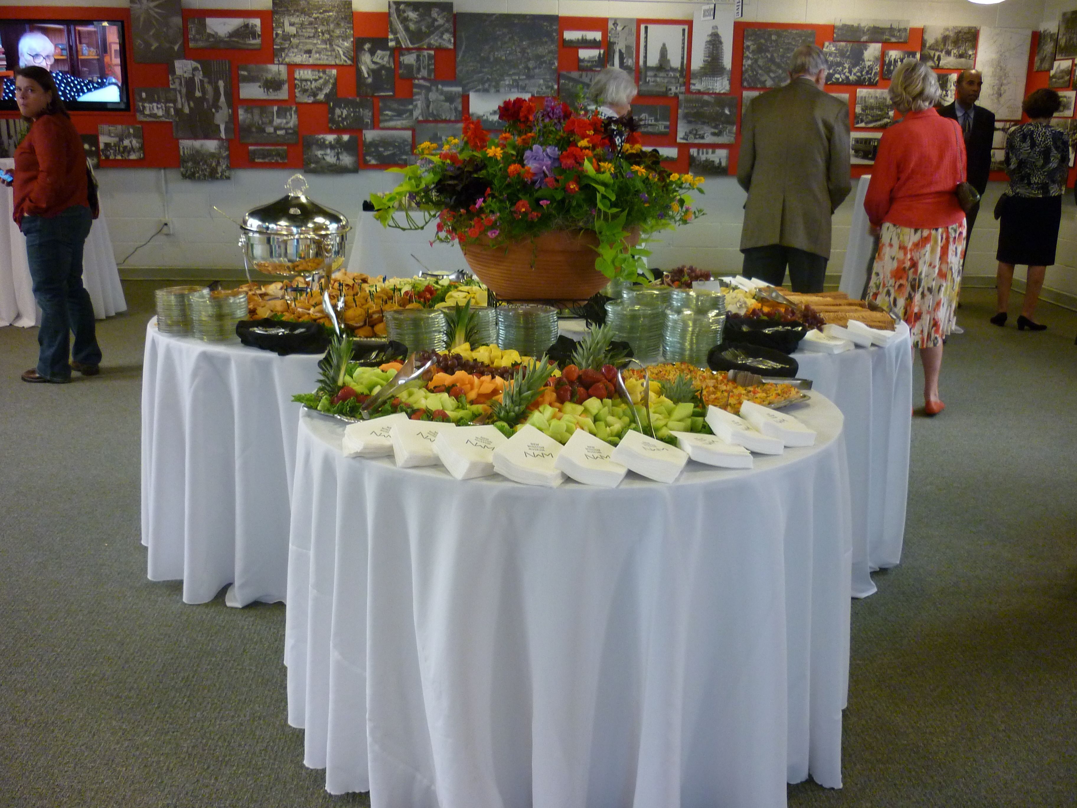 New Winston Museum Gallins Catering Display Jefferson Lakeside Cc 1700 Ave Richmond Va 23228