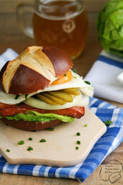 bayerischer burger ein bayerischer genuss zum abendbrot brotzeit bayerischerburger bayern. Black Bedroom Furniture Sets. Home Design Ideas