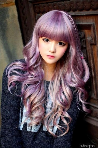 Purple Hair! ~ LOVE