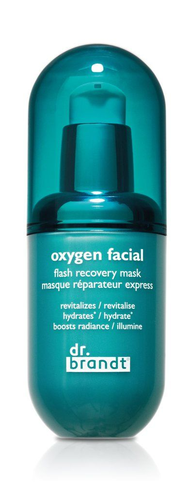 Dr. Brandt Oxygen Flash Facial Recovery Mask.