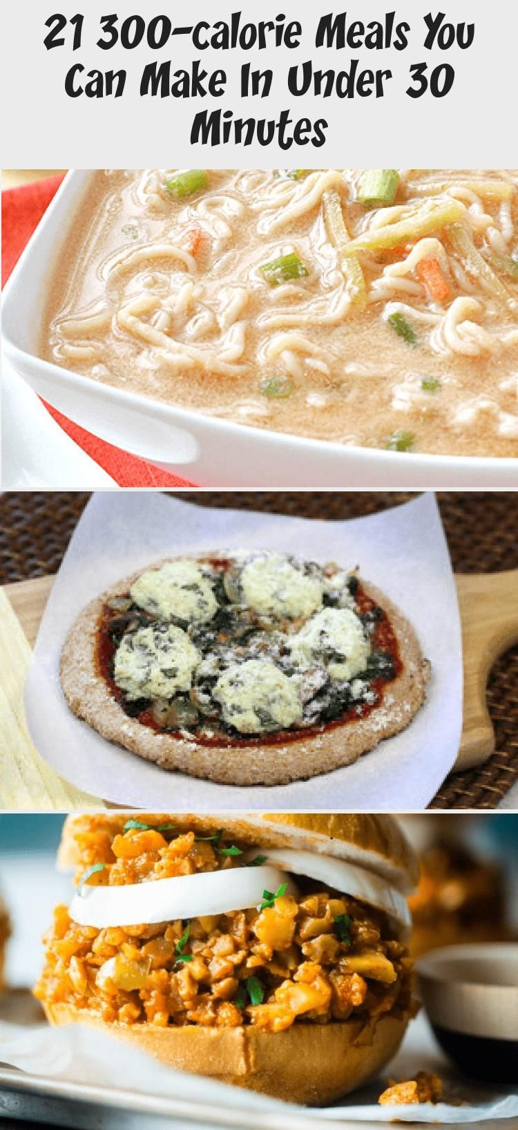 21 300-calorie Meals You Can Make In Under 30 Minutes - Pinokyo #300caloriemeals