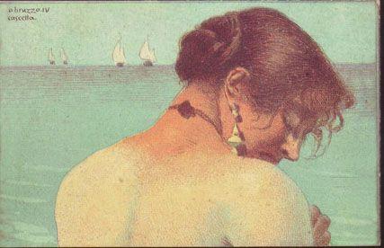 Le cartoline cromolitografate e acquerellate da Basilio CASCELLA (1860-1950)