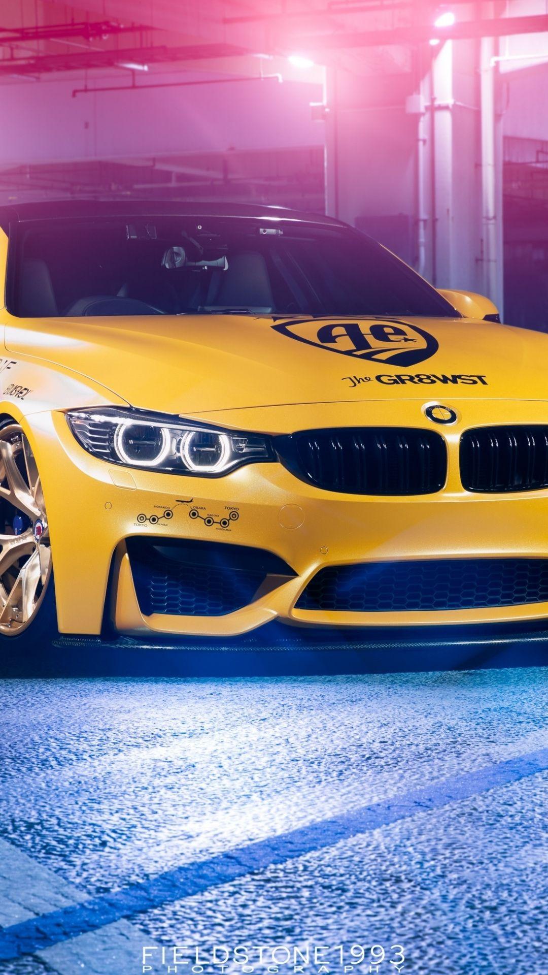 Bmw M4 Automotive Design Yellow 1080x1920 Wallpaper Automotive Design Bmw M4 Automotive
