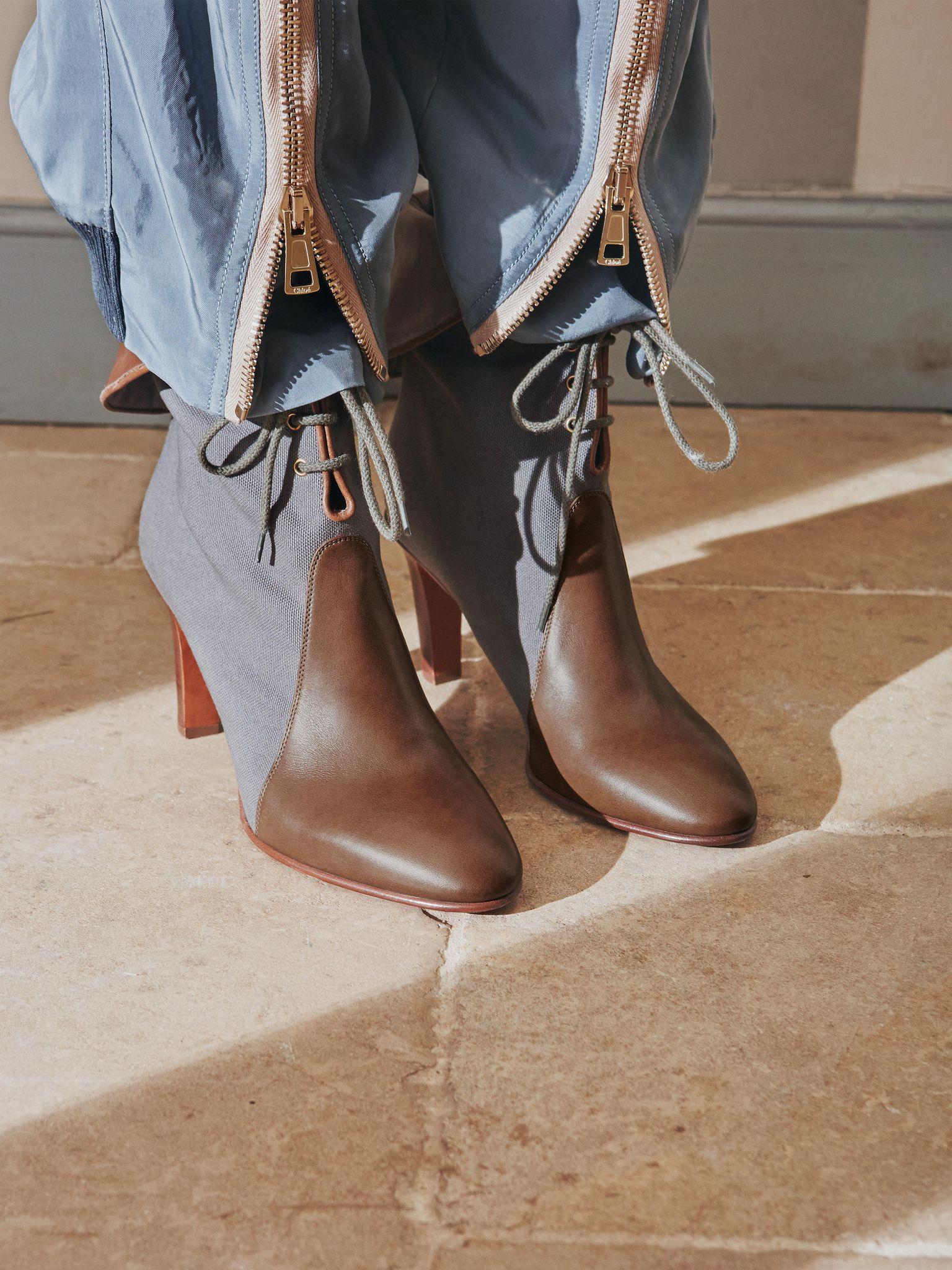 5851df3f7c Chloé Kole Ankle Boot, Women's Shoes | Chloé Official Website ...