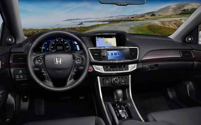 2015 Honda Accord Hybrid Vs 2015 Ford Fusion Hybrid Interior on