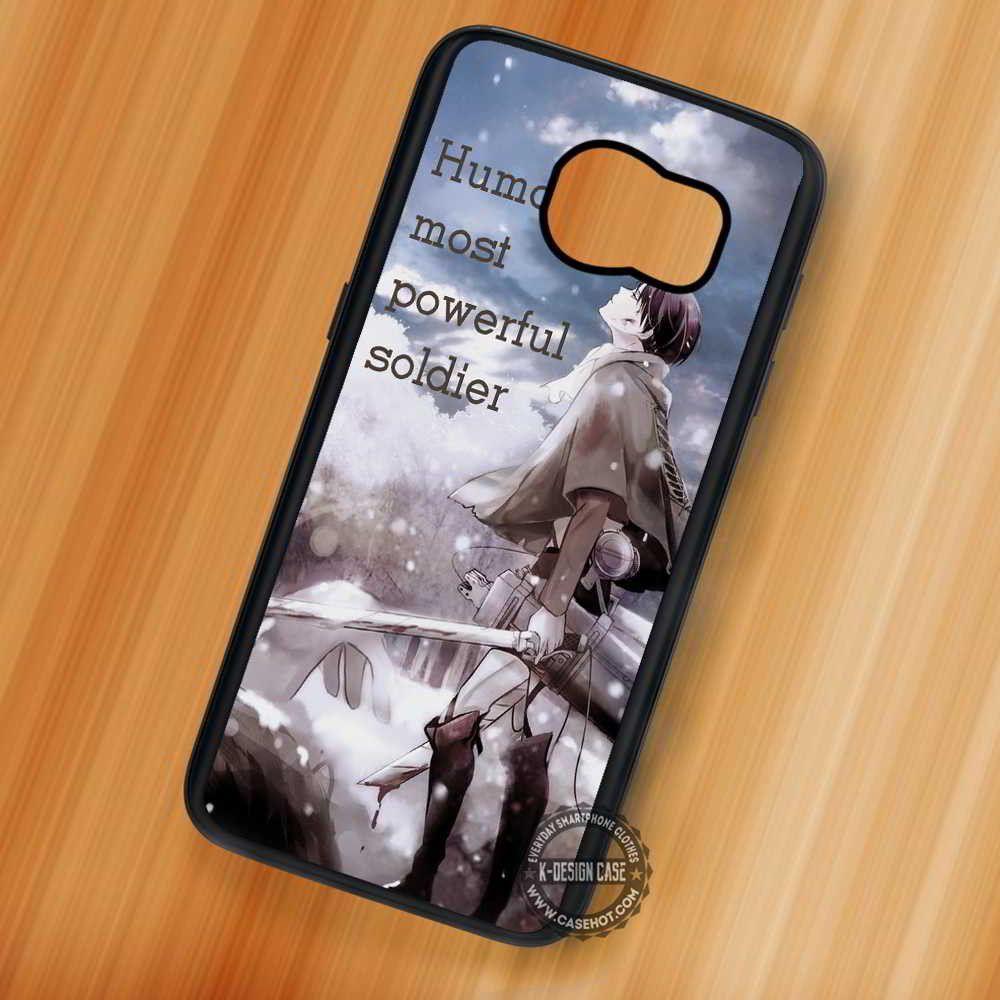 Shingeki No Kyojin Anime - Samsung Galaxy S7 S6 S5 Note 7 Cases & Covers