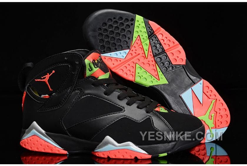 Big Discount 66 OFF Cheap Air Jordan 7 Retro Marvin The Martian BlackInfrared 23Blue GraphiteRetro Noir