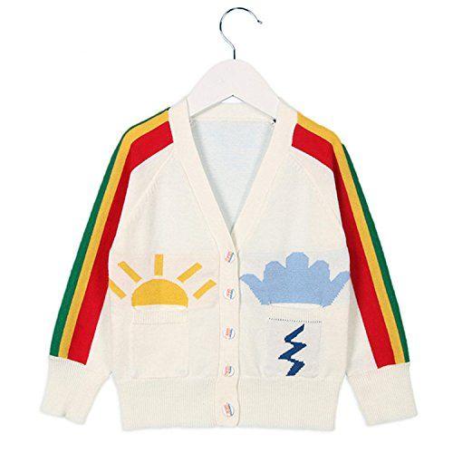 44fedb26ab21 David Nadeau New Baby Girls Boys Knitted Sweater Coats 1-6Yrs Girls ...