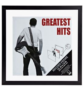 Display Your Classic 12 X 12 Vinyl Records In This Black Record Album Frame Framed Records Album Frames Vinyl Record Frame