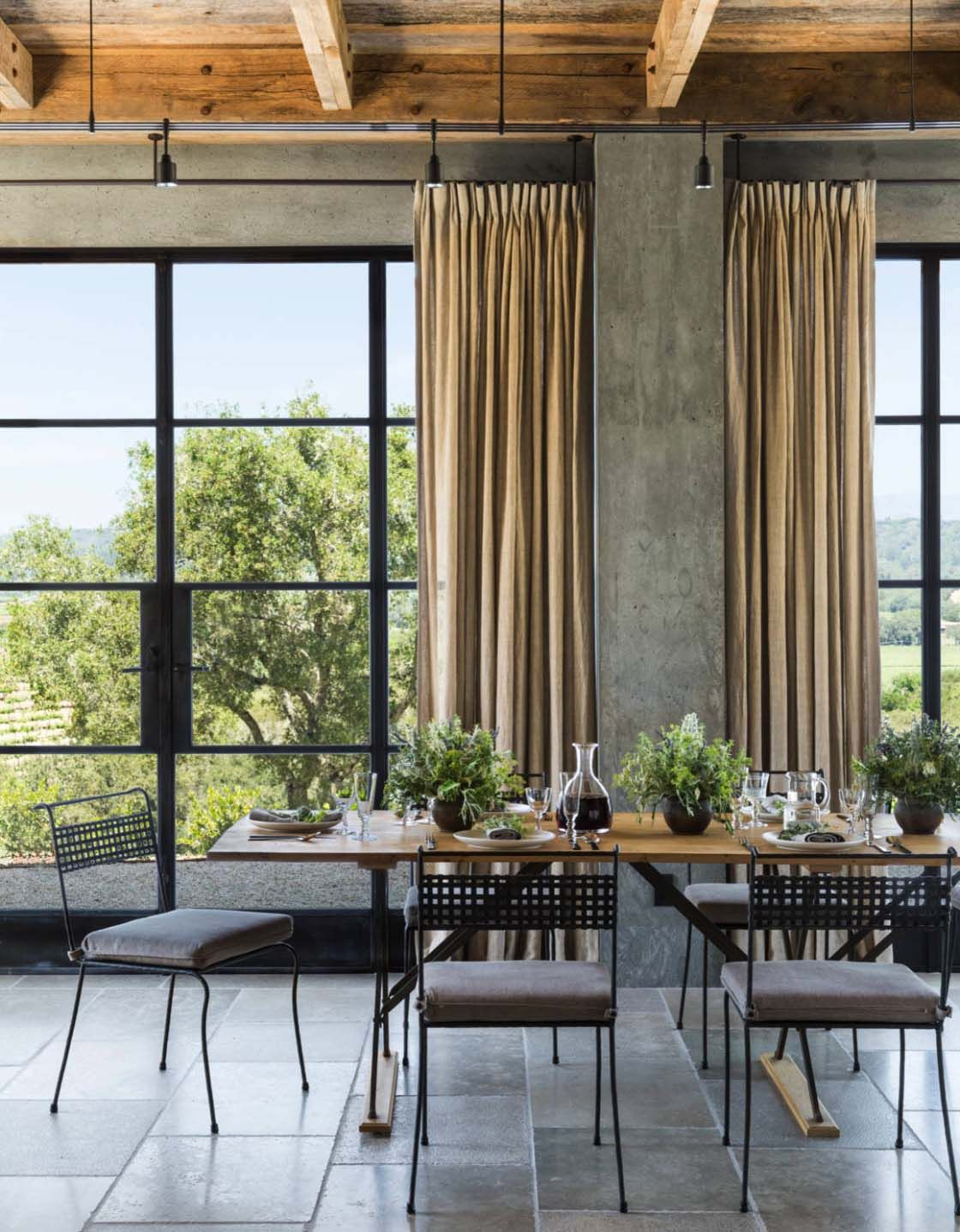 California wine country farmhouse designed with timeless