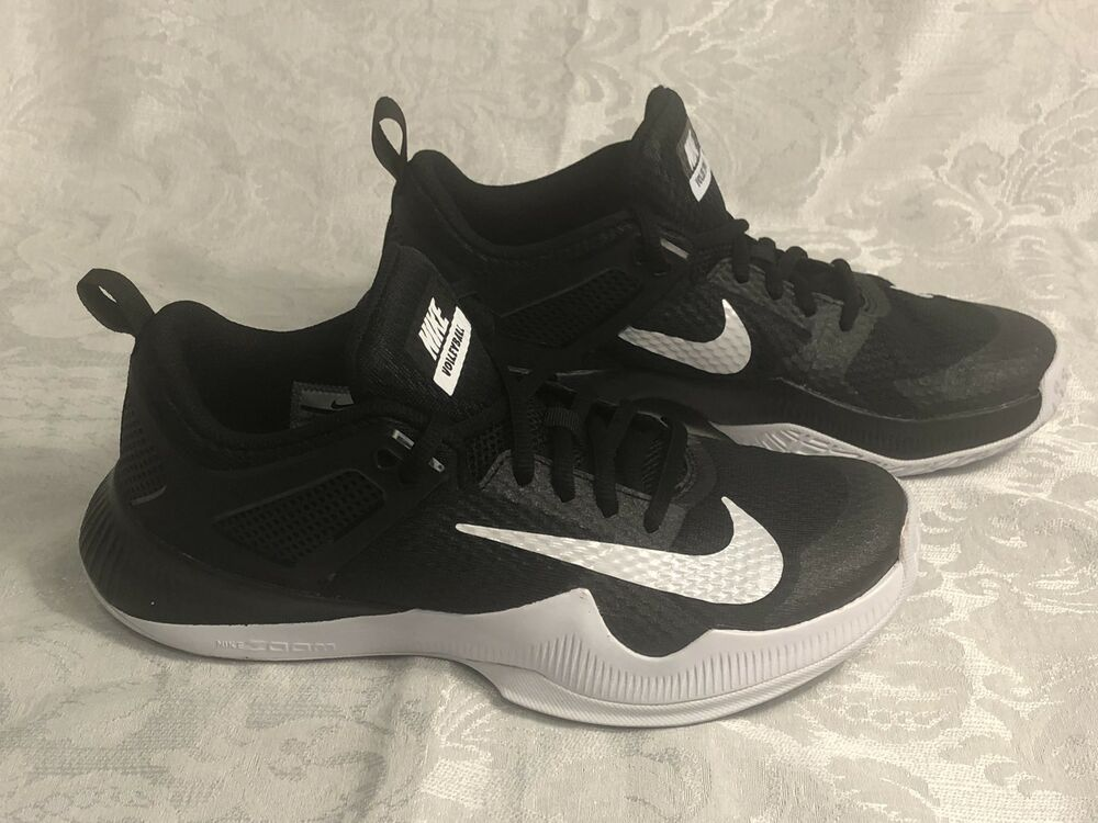 da8085d1def5 New Size 6.5 Women s Nike Air Zoom HyperAce Volleyball Shoes 902367-001  Black - Nike