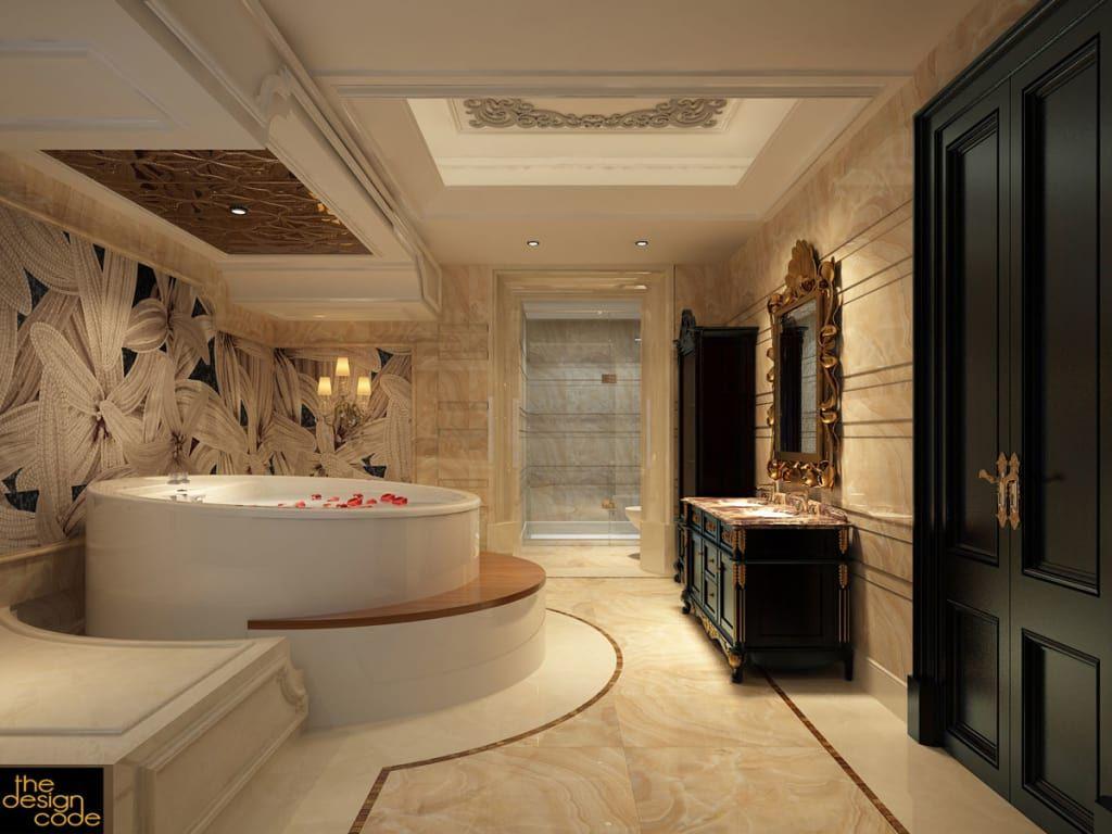 By The Design Code Design Interior Corner Bathtub