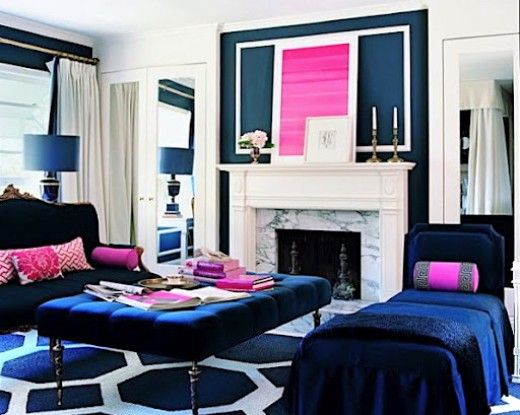 Dark Navy Furniture And Accessories Won T Necessarily Make Your Room