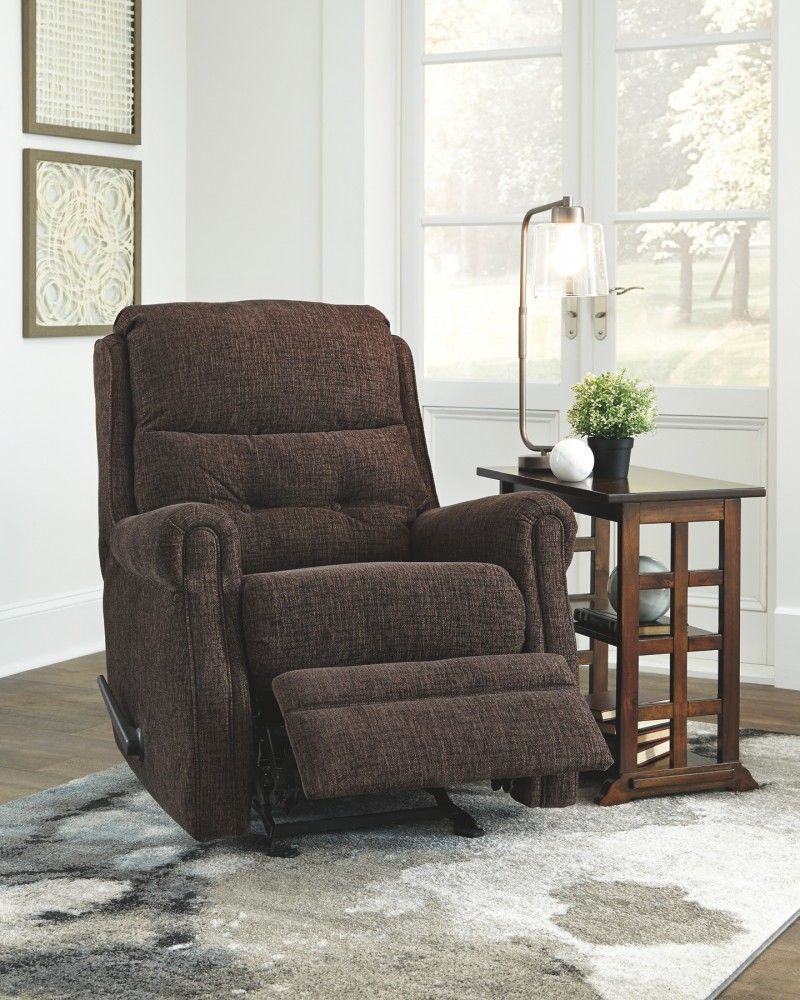 This Chenille Textured Recliner Grants You The Resting Power You