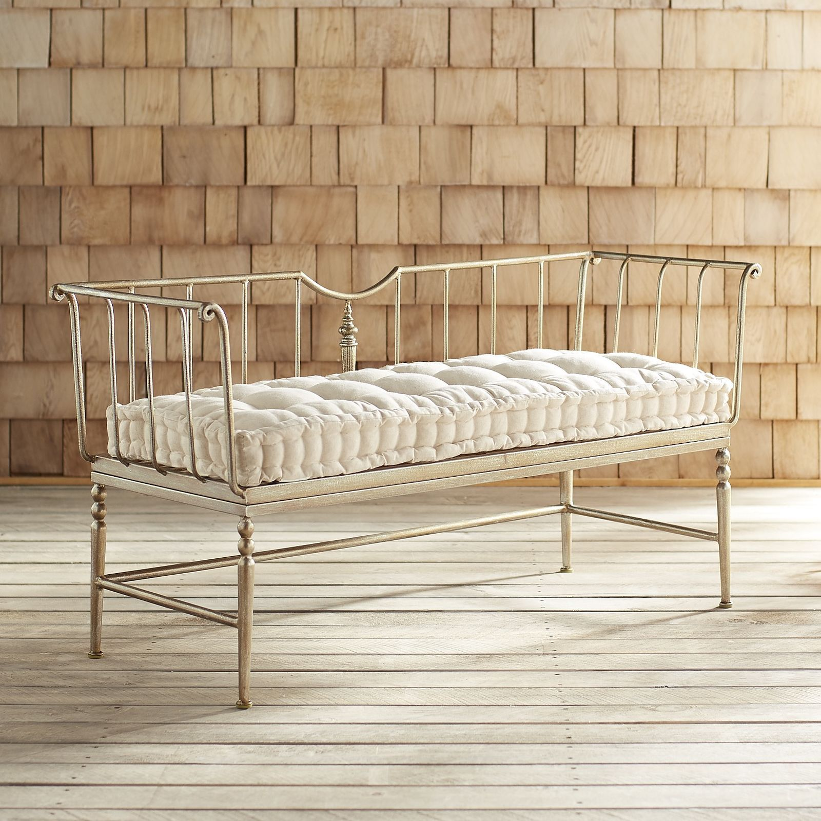 Darcey Bench | Benches for sale, Iron bench, Furniture sale