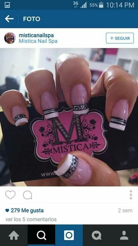 Mistica uñas   Diseño de uñas   Pinterest   Manicure and China glaze