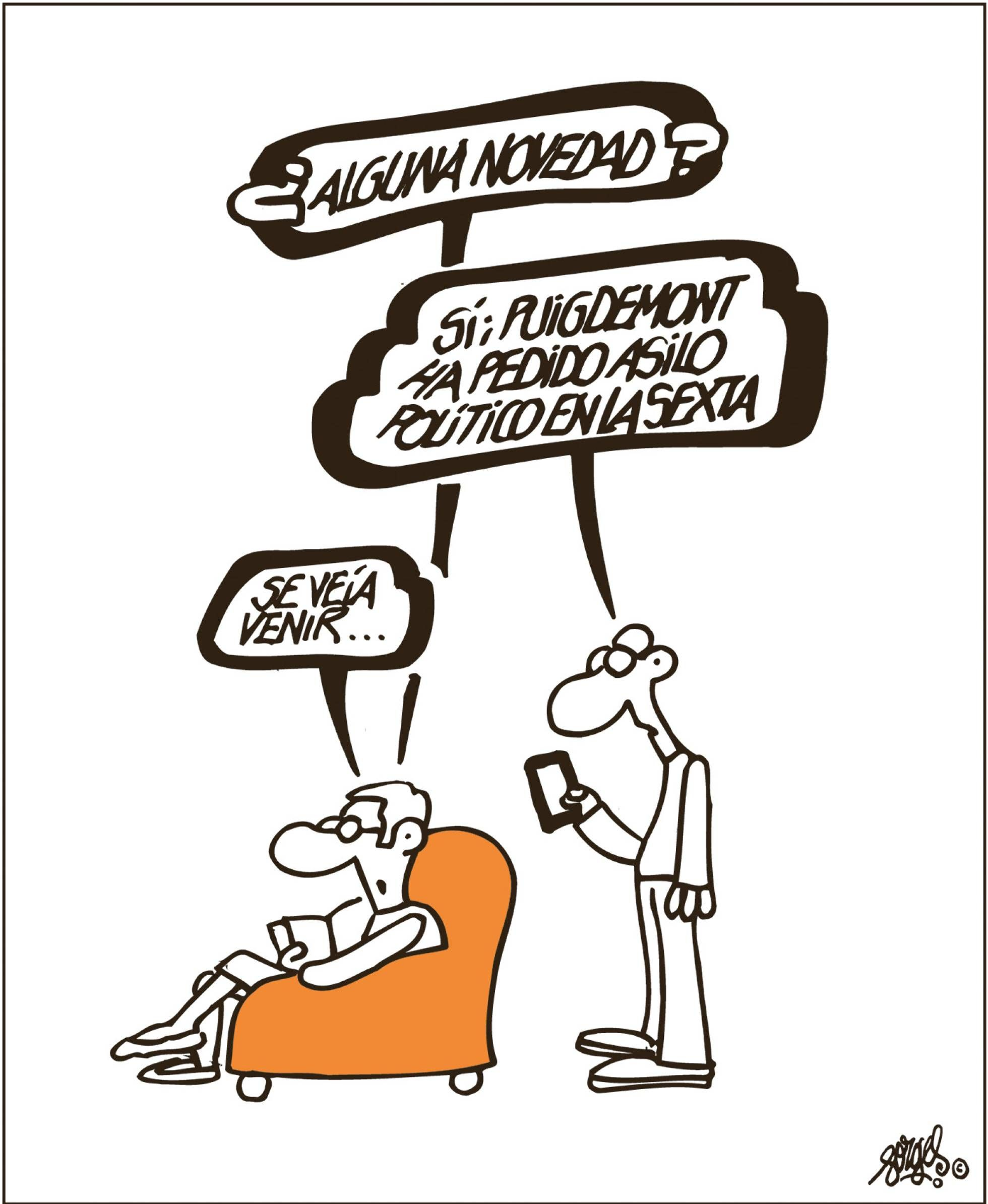 Forges Chistes De Forges Humor Grafico Asilo Politico
