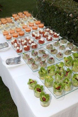 C mo organizar un banquete tipo c ctel fotos buffet de for Cocina moderna tipo buffet