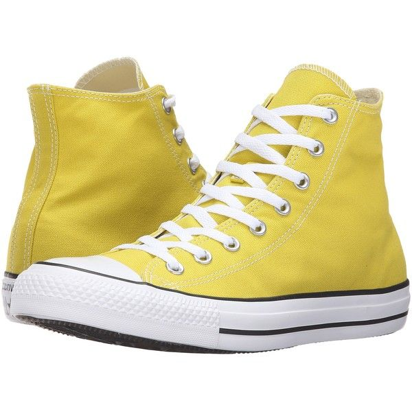 5d61d8e8a1555b High Top Sneakers · Converse Chuck Taylor All Star Seasonal Color Hi (Bitter  Lemon) Lace.
