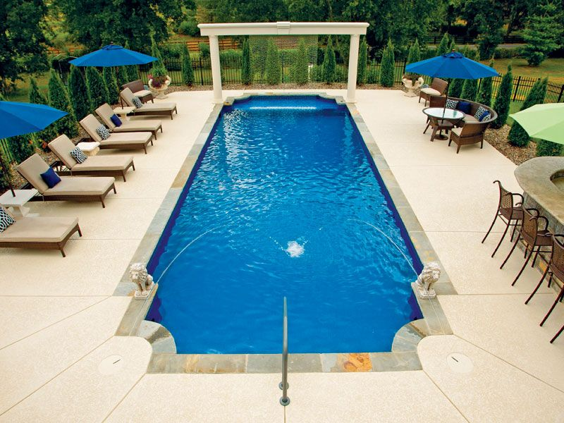 Regulus Large Rectangle Inground Pool Ideas By Trilogy Pools