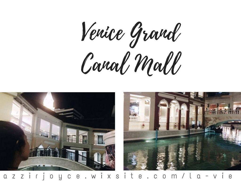 Travel Destinations Venice Grand Canal Mall