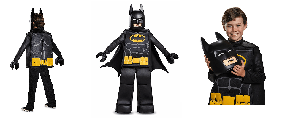 Lego Batman Costume for Boys Halloween Haven in 2020
