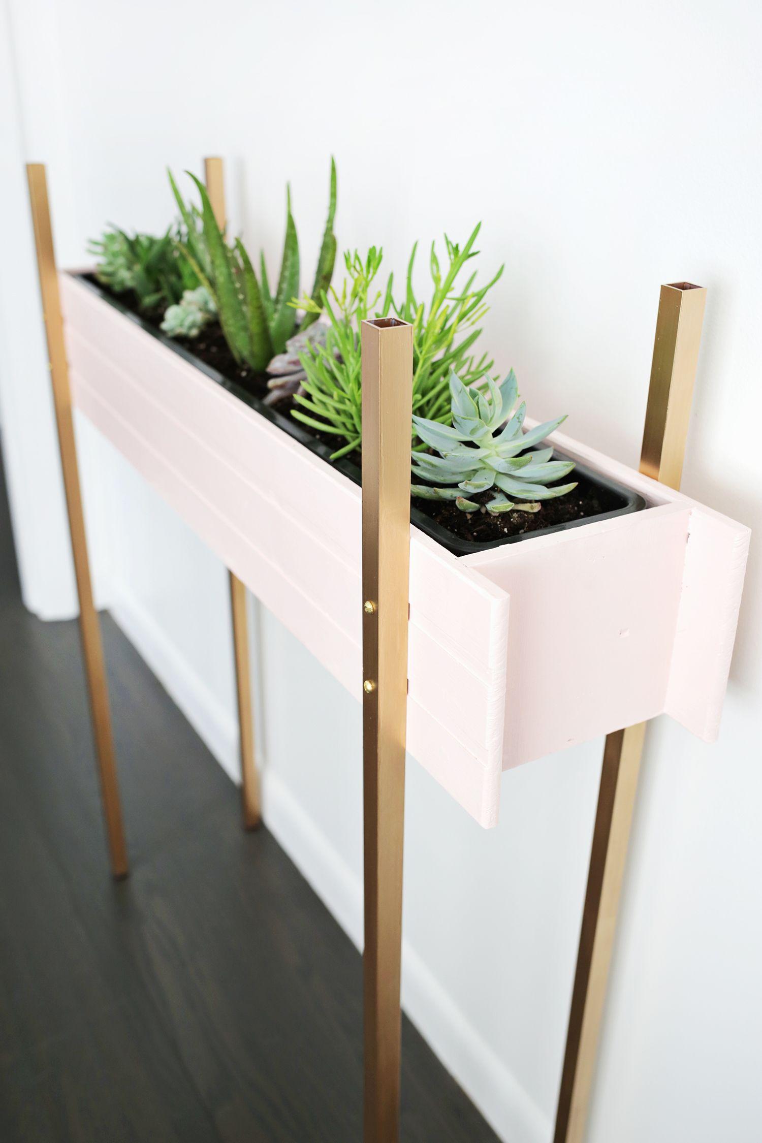 Skinny Planter Stand DIY Diy plant stand, Diy planters
